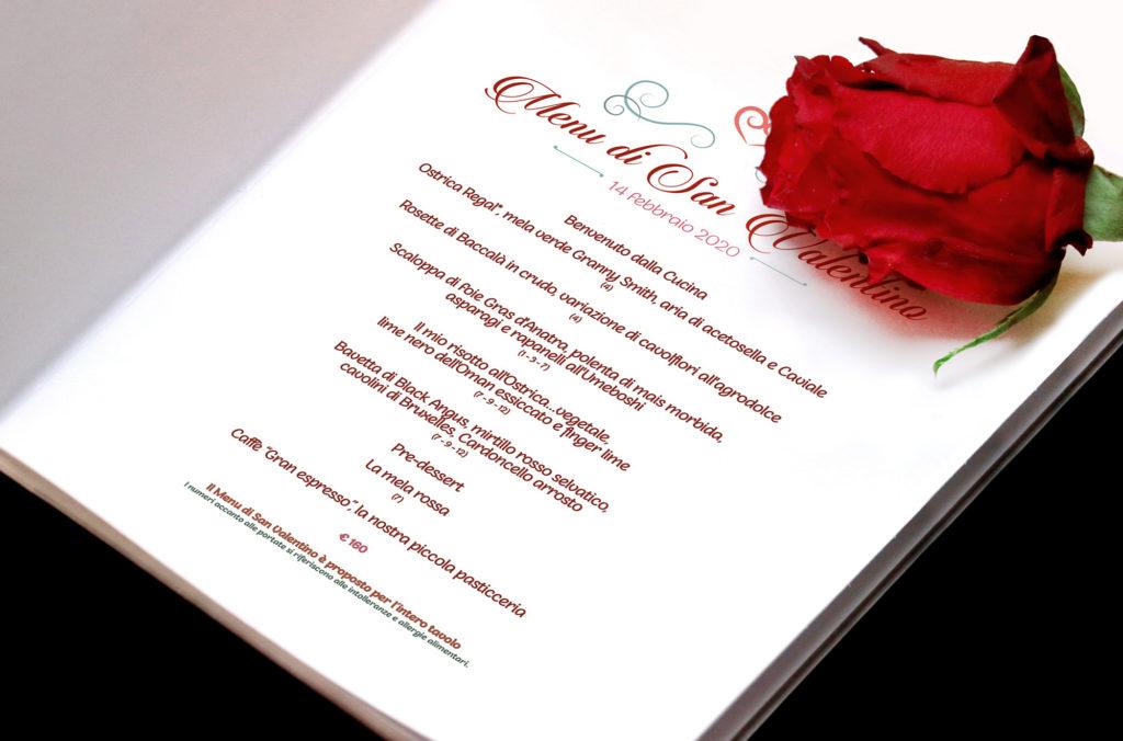Valentine's Day Menu, February 14th, 2020