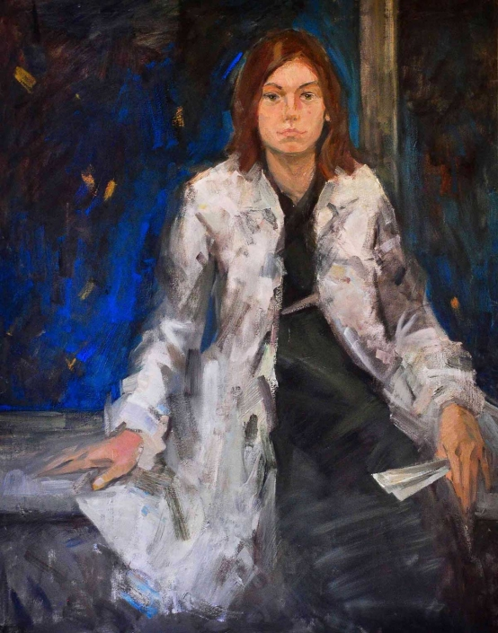 Svetlana olio su tela – 2012 – cm 105×85