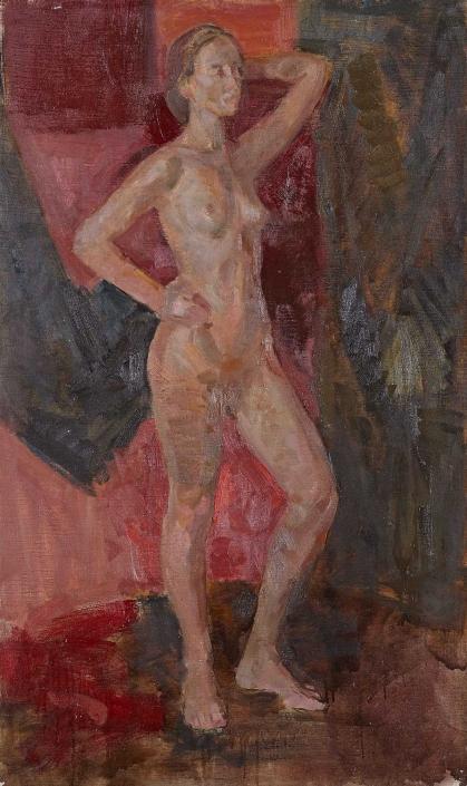Armonia femminile olio su tela – 2014 – cm 150×90