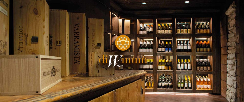 Enoteca a Como, esposizione vini, DiWinum