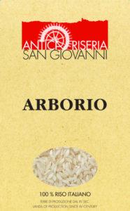 Riso Arborio, Antica Riseria San Giovanni