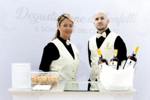 Myriam Giovanni e Pierluigi Pizzone, I Sommelier dei Confetti
